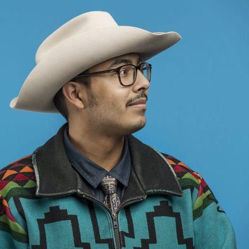 Man in a cowboy hat
