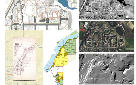 Campus GIS data for academic & admin. activities