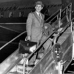 Jan. 1949, enroute to Scandinavia.