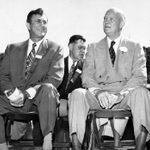 Hosting Eisenhower at Carleton, September 16, 1952.