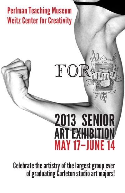 For Grandma: 2013 Senior Art Exhibition