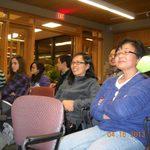 Mariko in the audience
