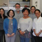 Members of the Asian Languages department.