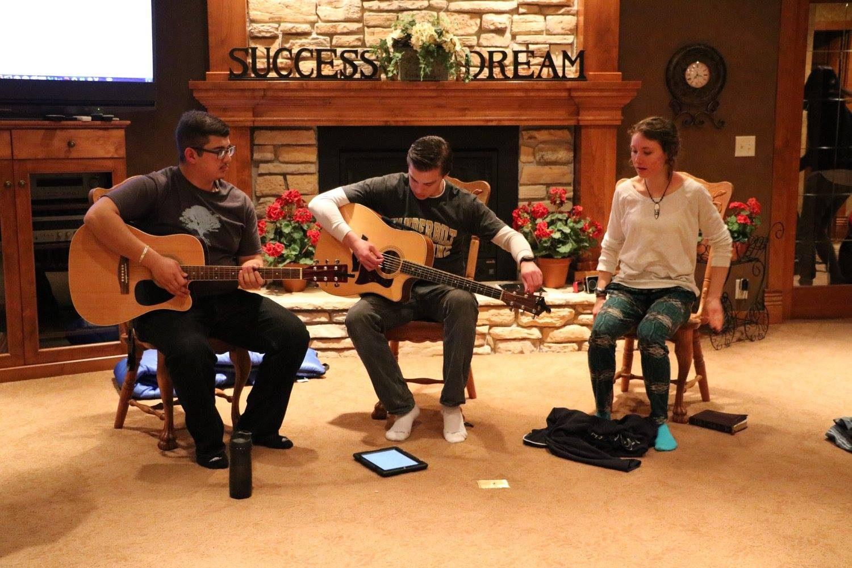 Worship at Winter Retreat 2016