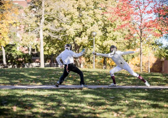 Fencing in the Fall