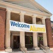 Welcome Alumni at Sayles-Hill Campus Center