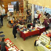 2014 Holiday Craft & Bake Sale in the Weitz Center for Creativity Commons.