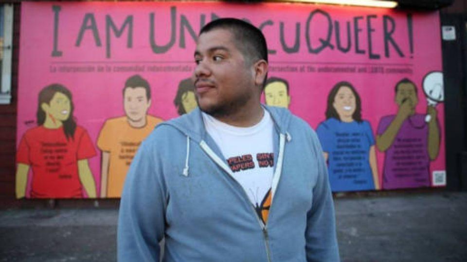 Mexican-American artist and activist Julio Salgado