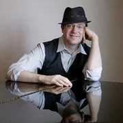 Portrait of faculty pianist and composer, Matthew McCright.