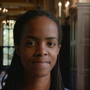 Portrait of Jessica Makori '19, a senior from Bloomington, Minn.