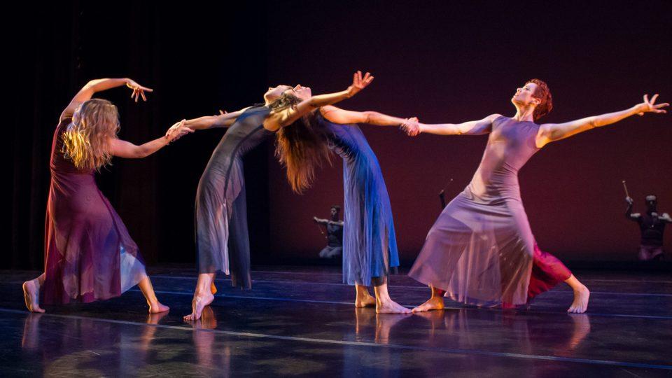 Members of the Zenon Dance Company