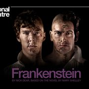 """Promotional poster for the National Theatre Live production of """"Frankenstein."""""""