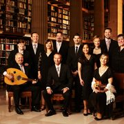 The members of the choral group The Rose Ensemble
