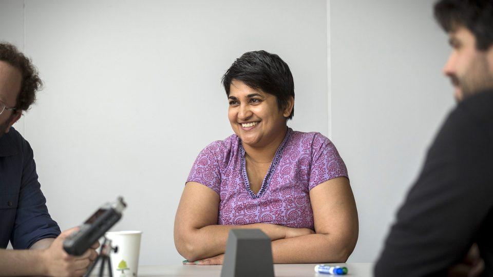 Anita Chikkatur, associate professor of educational studies