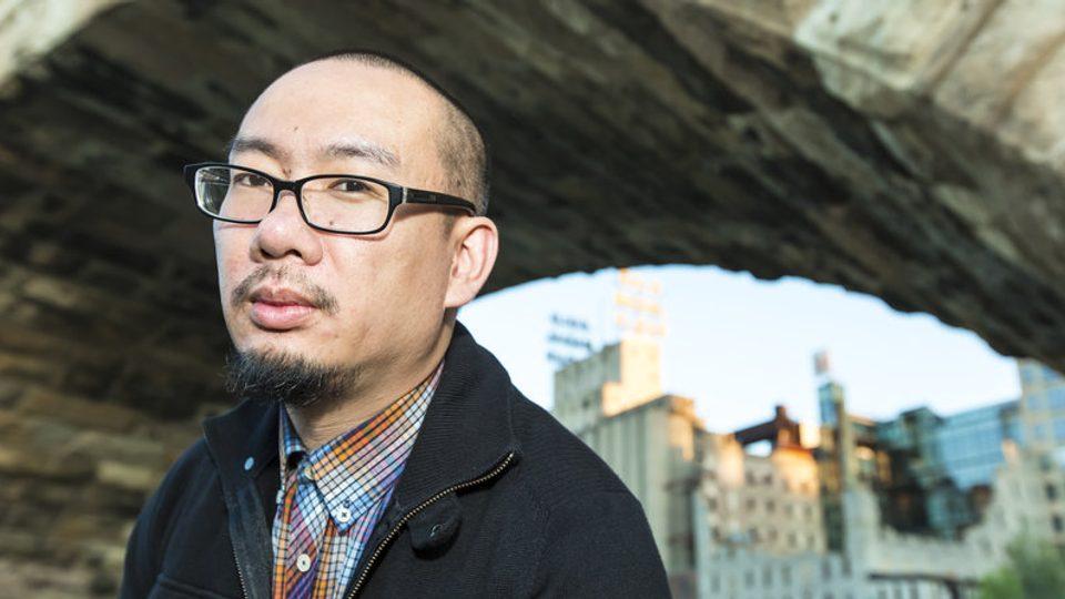 Image of poet and spoken word artist, Bao Phi.