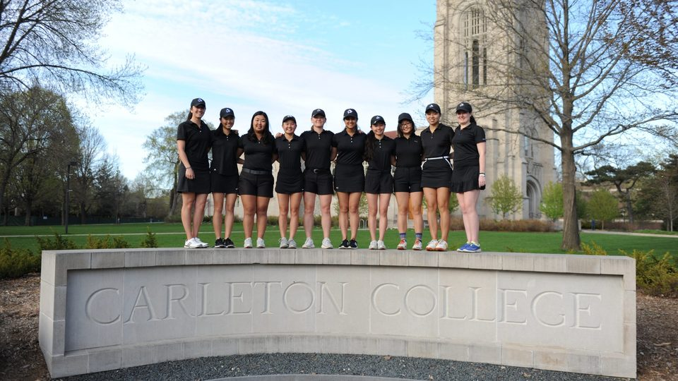 The Women's Golf team heads to the 2019 national championship.