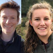 Will Schwarzer '20 and Sarah Finstuen-Magro '20, Goldwater Scholarship recipients