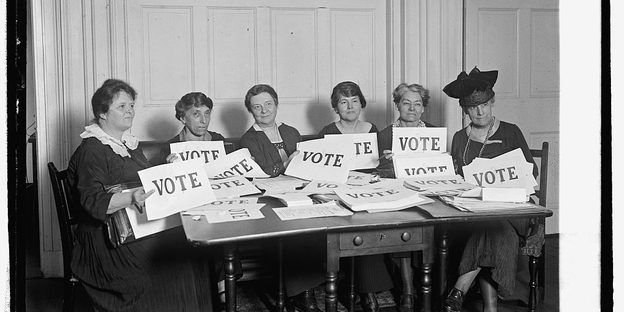 National League of Women Voters, 1924