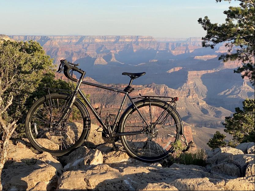Andrews at the Grand Canyon