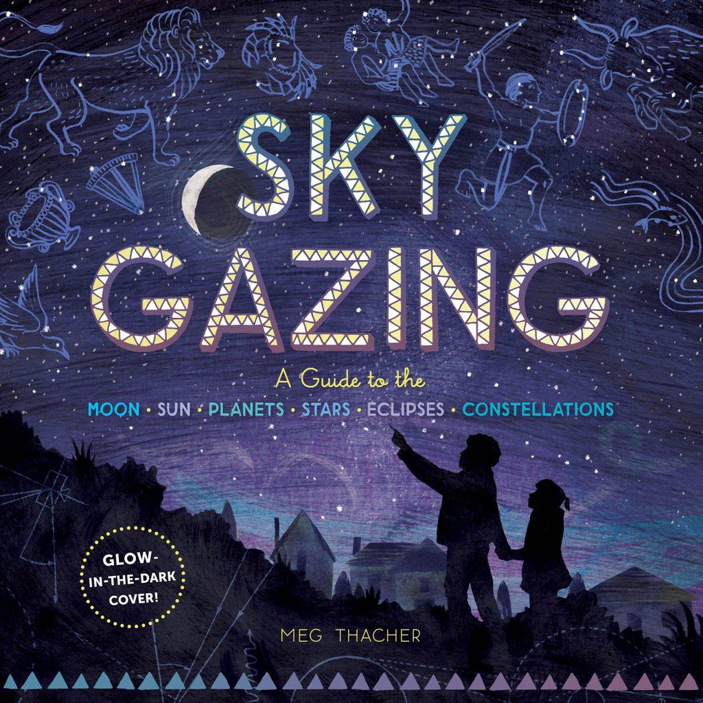 """""""Sky Gazing"""" book cover"""