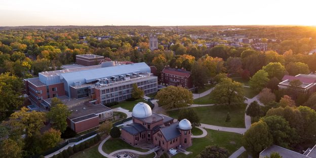 Goodsell Aerial Campus View