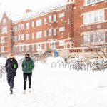 Students outside Nourse Hall