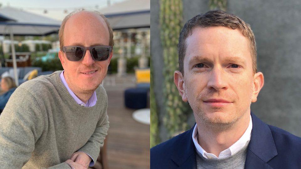 John Greene '96 (left) and Christopher Roan '04 (right)