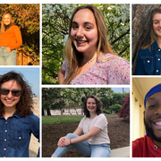 2021 Fulbright Collage of students