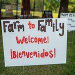 farm to family sign