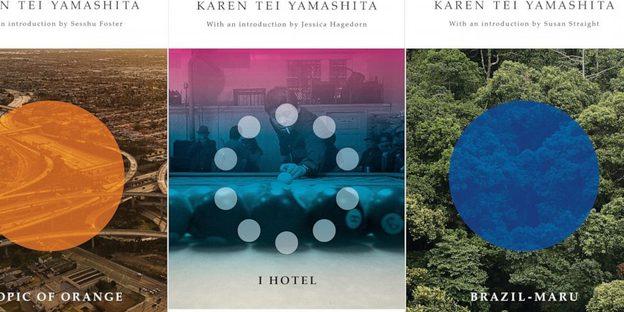 a combo of Karen's book covers