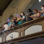 bubble brigade in skinner chapel