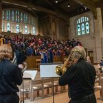 trumpet and brass fanfare