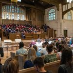 opening convocation in skinner chapel