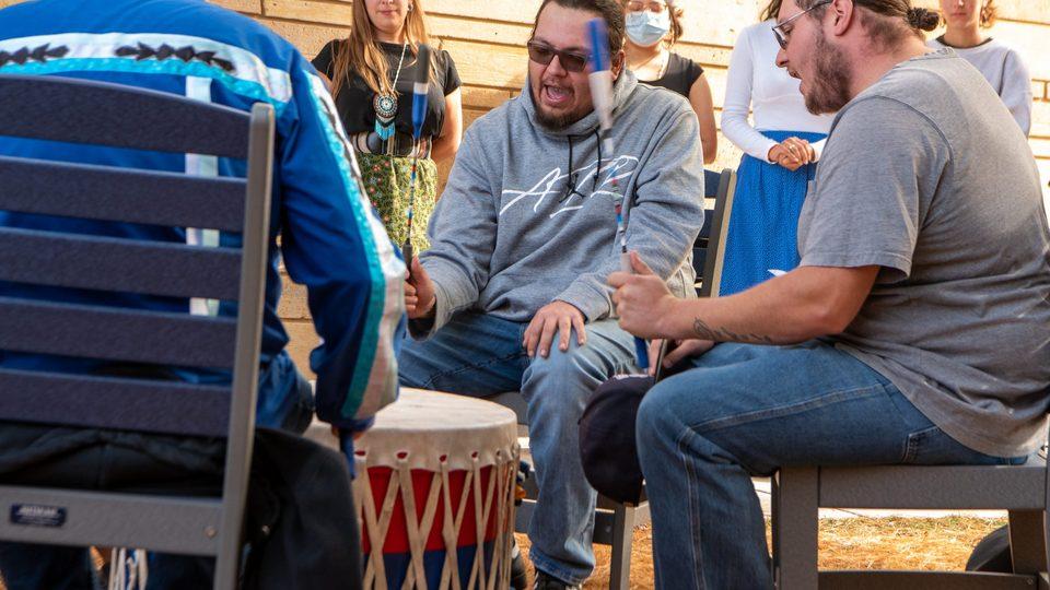 Prairie Island Drummers