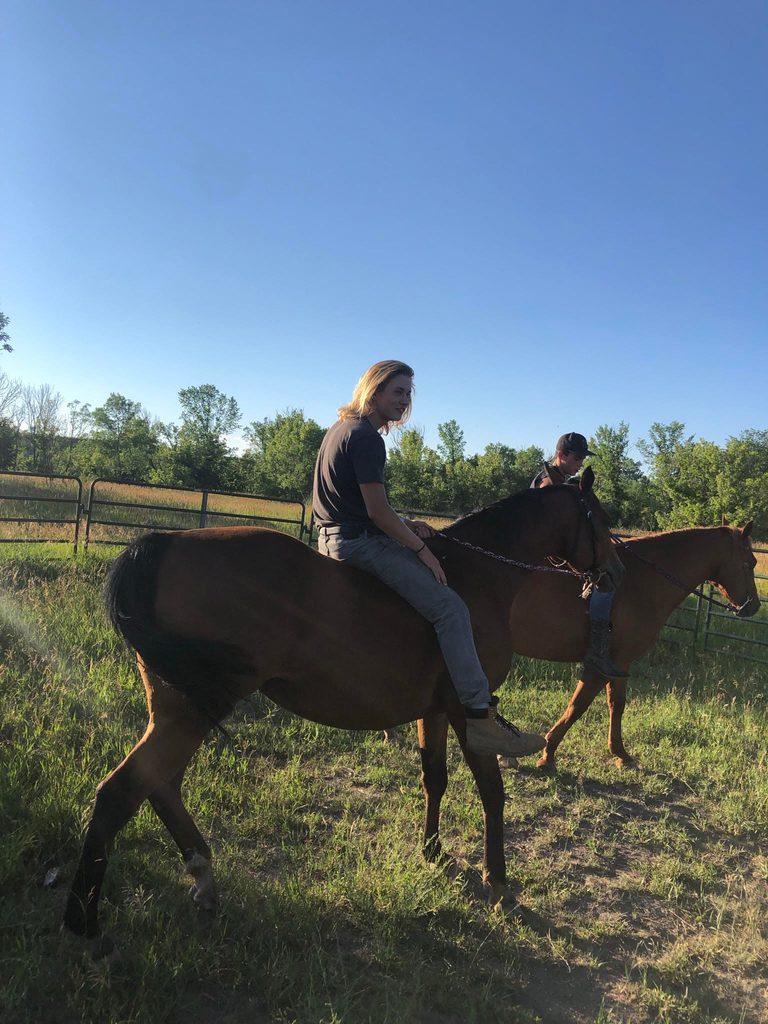 Haddock on horseback.