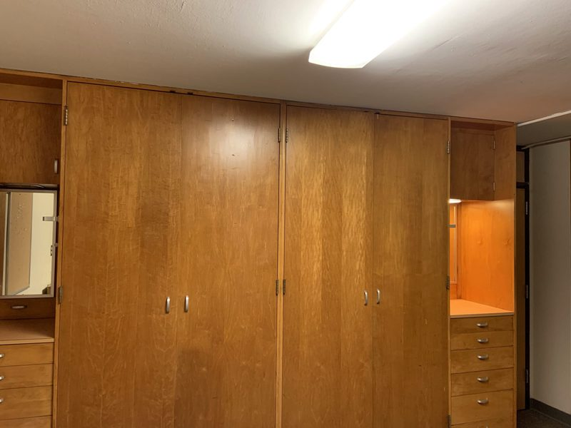 Myers Corner Double Room-Closets & Drawers
