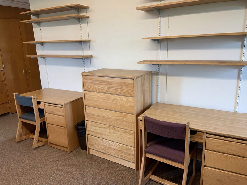 Watson Corner Room-Desks & and Bookshelves w- Supplemental Chest