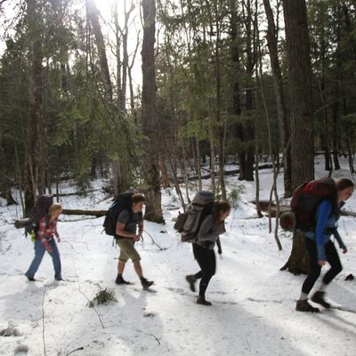 Backpacking in the Porcupine Mountains