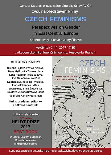 2017 Heldt Prize Winner, Czech Feminisms, Iveta Jusová.