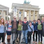 Group at Pariser Platz, Berlin