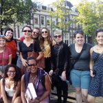 Jennifer Tosch Black Heritage Tour with WGSE students Amsterdam