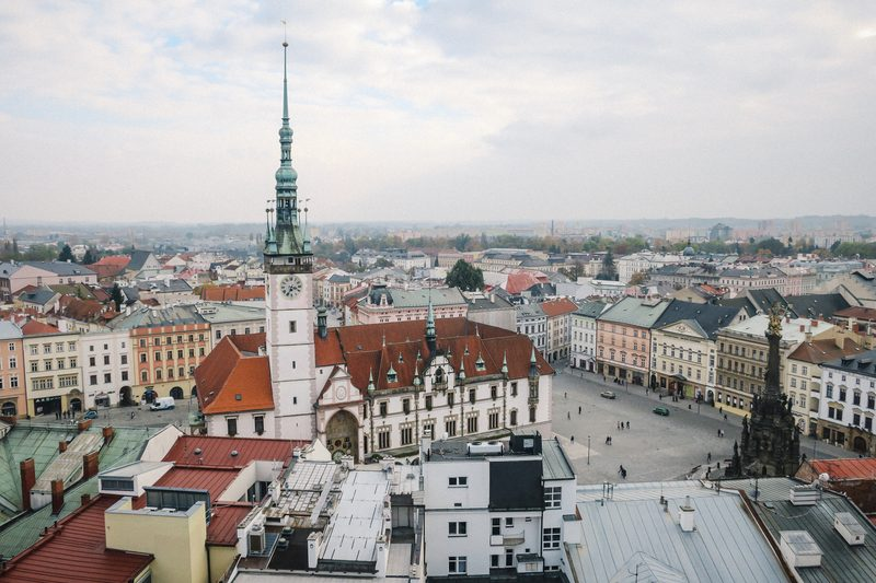 Olomouc View in the Czech Republic