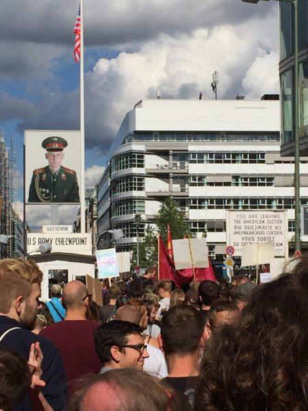 Peaceful pro-choice demonstration, Berlin