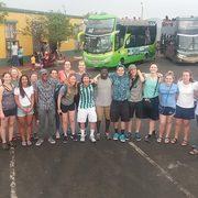 Desde la cumbre del San Cristóbal, en el centro de Lima