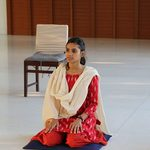 A student in meditation