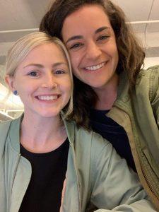 Kayla and Alyssa