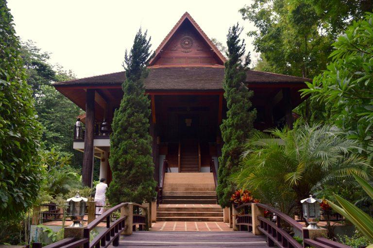 The meditation hall