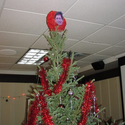 The Russian Department New Year's Tree