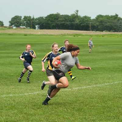 Alumni returned for a Rugby Affinity during Reunion 2018.