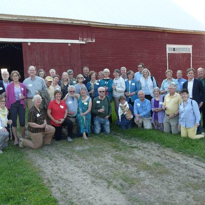 Members of classes '72 and '73 on their mini reunion in spring 2016.
